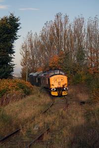 37 410 at Runcorn on 2nd November 2007 (1)