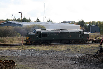 37 411 at Warrington Arpley on 2nd November 2007 (5)
