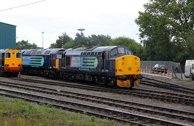 37 510 at Crewe Gresty Bridge on 9th June 2011