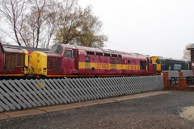 37 503 at Barrow Hill on 16th November 2014
