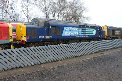 37 510 at Barrow Hill on 3rd April 2016