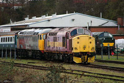 37 503 at Leicester on 30th March 2016
