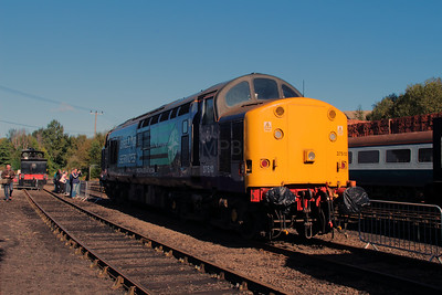 37 510 at Barrow Hill on 22nd September 2012