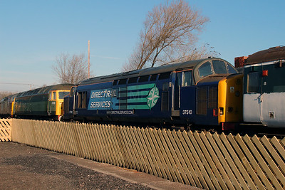 37 510 at Barrow Hill on 9th March 2014