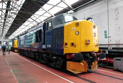 37 510 at Crewe Gresty Bridge on 10th July 2010