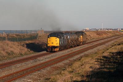 37 510 at Abergele & Pensarn on 23rd November 2007