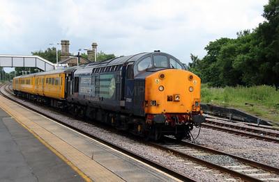 2) 37 601 at Earlestown on 24th June 2014 working 1Q14 0743 Crewe CS to Crewe CS