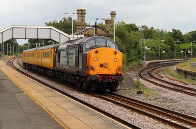 1) 37 601 at Earlestown on 24th June 2014 working 1Q14 0743 Crewe CS to Crewe CS