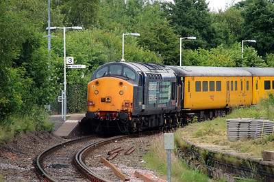 5) 37 601 at Earlestown on 24th June 2014 working 1Q14 0743 Crewe CS to Crewe CS
