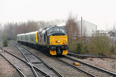 37 601 at Coleshill Parkway on 7th April 2018