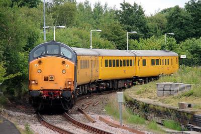 4) 37 601 at Earlestown on 24th June 2014 working 1Q14 0743 Crewe CS to Crewe CS