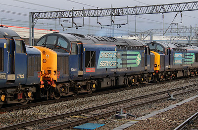 37 601 at Crewe on 15th March 2013