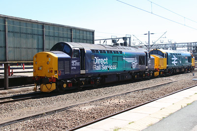 37 716 at Crewe on 19th July 2016