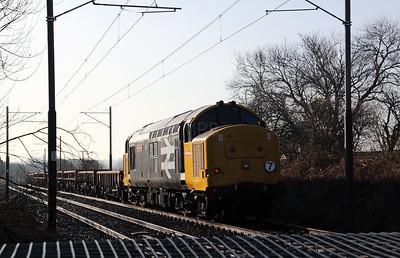 37 901 at Hagside LC (Metrolink) on 6th February 2010  (3)