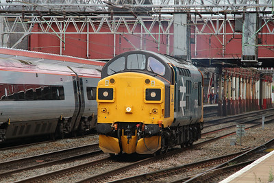 1) 37 025 at Crewe on 7th July 2016