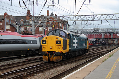 2) 37 025 at Crewe on 7th July 2016