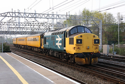37 025 at Crewe on 17th April 2019