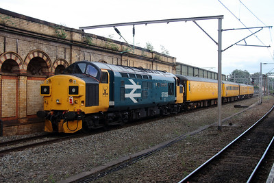 2) 37 025 at Crewe on 27th September 2016