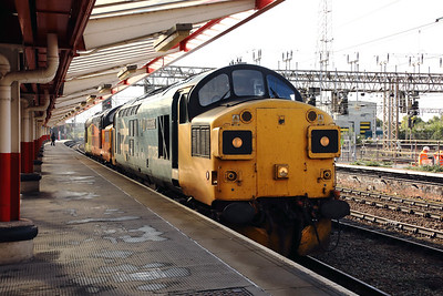 1) 37 025 at Crewe on 6th October 2020