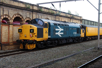 1) 37 025 at Crewe on 27th September 2016