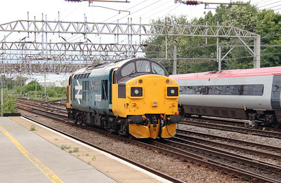 4) 37 025 at Crewe on 7th July 2016