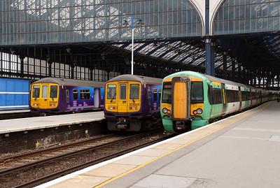 319 & 377 at Brighton on 17th May 2013