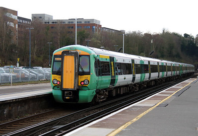 1) 377 155 at Haywards Heath on 26th March 2014