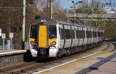 379 002 at Harlow Town on 3rd March 2015 working 1B72 (3)