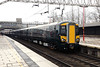 387 144 at Stafford on 24th January 2017 working Wembley to Crewe