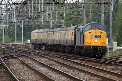 40 145 at Crewe on 3rd June 2007 (1)