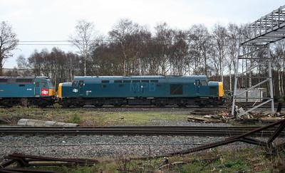 40 145 at Crewe CS on 4th December 2006