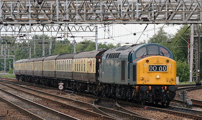 40 145 at Crewe on 3rd June 2007 (2)