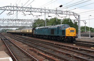 40 145 at Crewe on 3rd June 2007 (3)