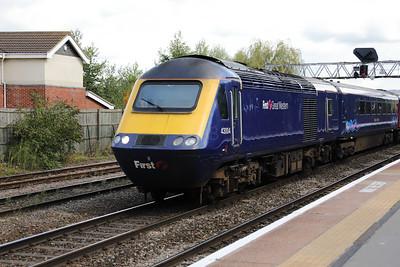 43 004 at Gloucester on 15th September 2017