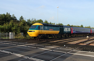 6) 43 002 at Gloucester on 4th October 2016