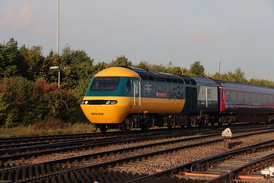 5) 43 002 at Gloucester on 4th October 2016