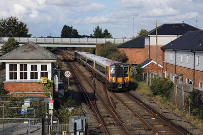 444 031 at Wareham on 31st August 2017