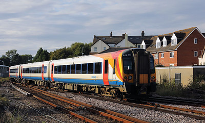 5) 444 031 at Weymouth on 31st August 2017