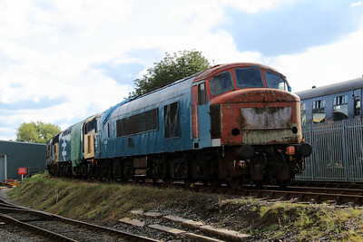 45 105 at Barrow Hill on 22nd September 2012