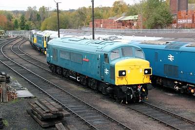 2) 45 060 at Barrow Hill on 30th October 2011