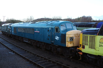 45 060 at Barrow Hill on 9th December 2018