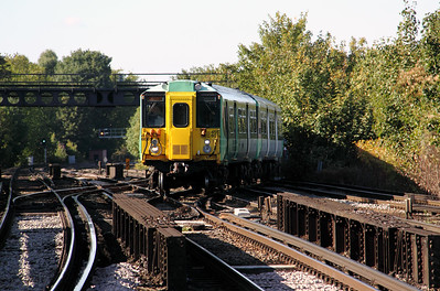 2) 455 806 at Balham on 20th October 2010