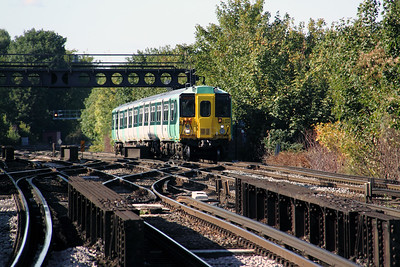 1) 455 806 at Balham on 20th October 2010