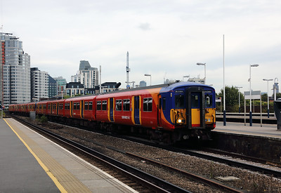 455 702 at Vauxhall on 16th August 2017