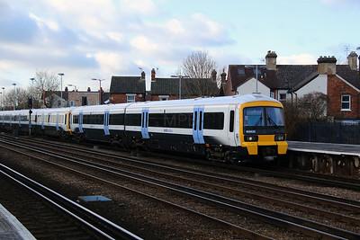 466 020 at Tonbridge on 4th February 2015 (2)