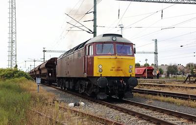 5) CRS, 47 375 (UIC No. 92 70 0047 375-5 UK-CRSHU) at Szentlorinc on 5th October 2019
