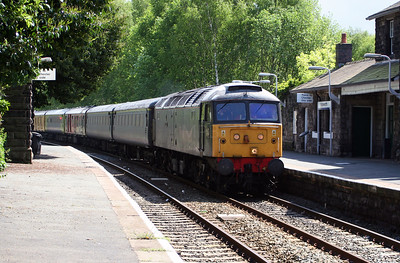 47 355 at Mouldsworth on 24th May 2006, 1Z14 Crewe to Crewe