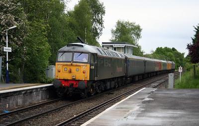 47 355 at Greenbank on 24th May 2006, 1Z14 Crewe to Crewe