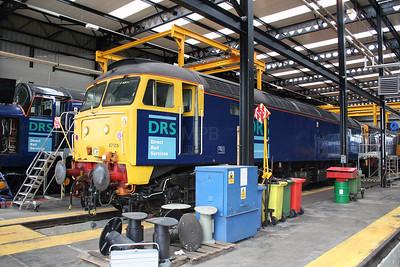47 501 at Carlisle Kingmoor DRS Depot on 11th June 2005 (3)