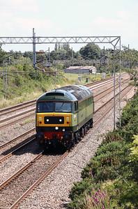 47 501 at Acton Bridge on 6th July 2020